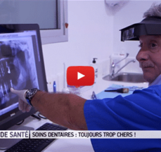France 5 : « Soins dentaires : toujours trop chers ! »